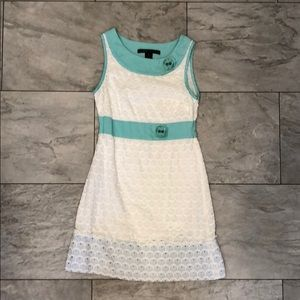 Marc Jacobs Scallop Eyelet Dress
